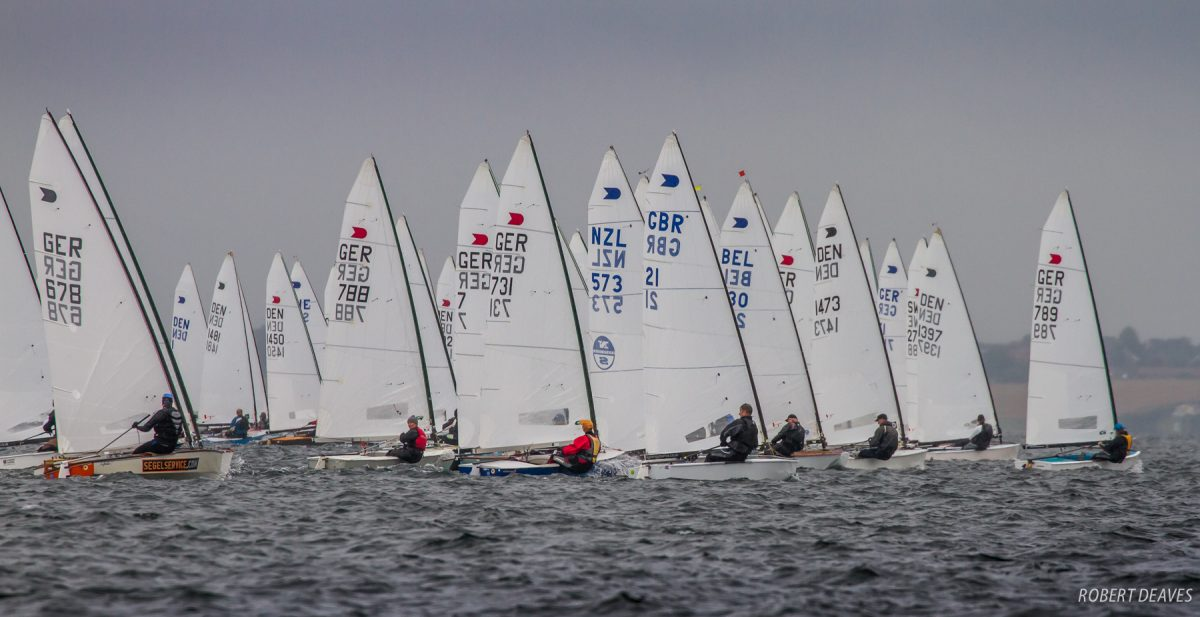 Rainy opener to Faaborg OK Dinghy European Championship