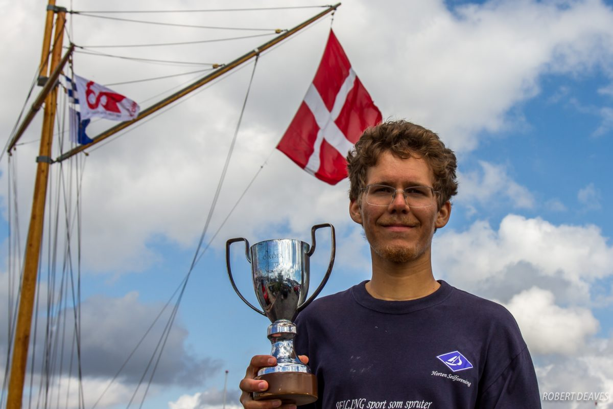 Lars Johan Brodtkorb makes history for Norway by winning OK Dinghy European title